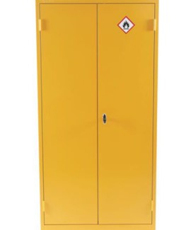 COSHH Yellow Flammable Cabinet 1815x915x459mm