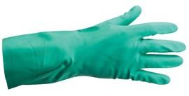 Household Rubber Gloves Large Green (Pk 12)