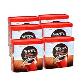 Nescafe Original Coffee Tins 6 x 750g