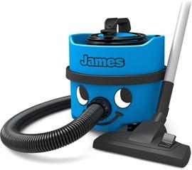 NUMATIC James Cylinder Vacuum Cleaner - Blue