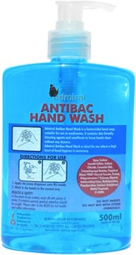 Antibacterial Hand Soap 6 x 500ml