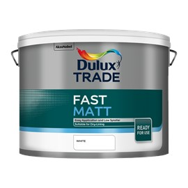 Dulux TR Fast Matt WHITE 10L