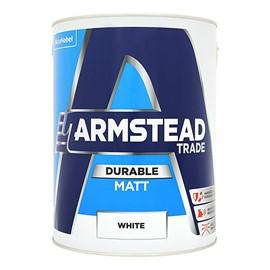 Armstead TR Durable Matt WHITE 5L