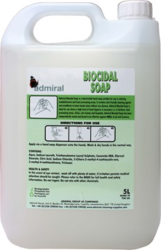 Universal Biocidal Hand Soap 5L
