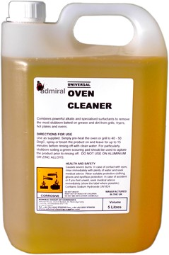 Universal Oven Cleaner Concentrate 5L
