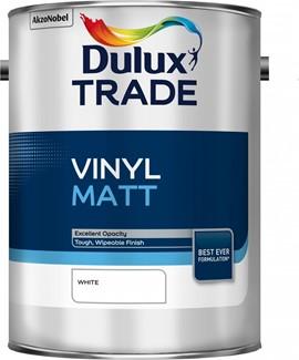Dulux TR Vinyl Matt WHITE 5L