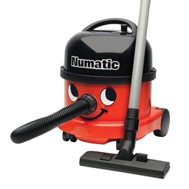 NUMATIC 580W Commercial Vacuum Cleaner - Red