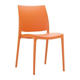 Maya Side Chair - Plastic - Stackable