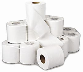 Contract Toilet Roll 200 Sheets 2ply