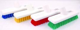 Deck Scrubber Brush Head - Red