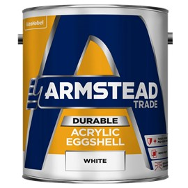 Armstead TR Durable Acrylic Eggshell WHITE 5L