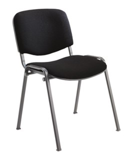 Multipurpose Stacker Chair Black