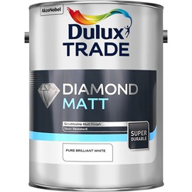 Dulux TR Diamond Matt PB WHITE 5L