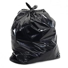 Light Duty Black Waste Sacks (Pack of 200)