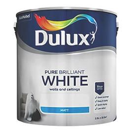 Dulux TR Vinyl Matt WHITE 2.5L