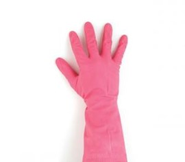 Red Household Gloves Small (Pk 12)