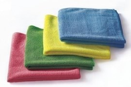 Microfibre Cloth - Green (Pack of 10) 992647