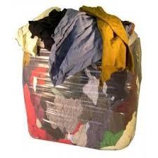 Cotton Mixed T-Shirt Rags (TSB) 10kg