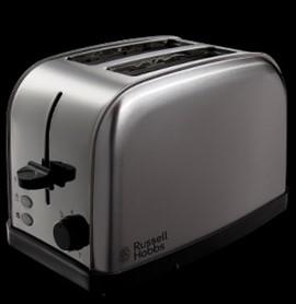2 Slice Toaster - Stainless Steel - Russell Hobbs