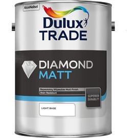 Dulux TR Diamond Matt Tinted COLOURS 5L