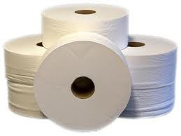 """Pure Pulp 2ply Mini Jumbo Toilet Roll  2.25"""" (Pack of 12)"""