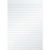 5 Star Value Memo Pad Headbound 60gsm Ruled 160pp A4 White Paper [Pack 10]