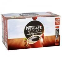 Nescafe original coffee sticks x 200