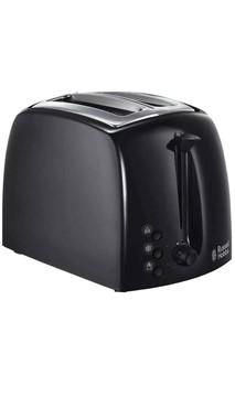 2 Slice Toaster Russell Hobbs- Black